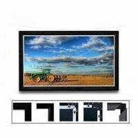 Buy cheap Fixed Frame Projection Screen, Aluminum Frame and Unique Tighten System from wholesalers