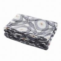 Buy cheap Super Soft Printed Coral Fleece Blanket, Easy to carry from wholesalers