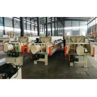 Buy cheap Industrial Automatic Press Filter Spot 1250x1250 For Sewage Sludge Disposal from wholesalers