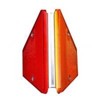 Buy cheap reflective Guardrail delineator reflector guardrail delineator, highway road reflector from wholesalers