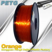 Wholesale High Strength PETG Filament  , Transparent 3D Printing Filament  Resistance Acid from china suppliers