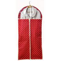 Buy cheap OEM Garment Bag Personalized Red Nonwoven Garment Storage Bags from wholesalers