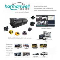Buy cheap realtime monitoring 4 CH MDVR 3G GPS H.264 G-sensor school bus vehicle mobile dvr from wholesalers