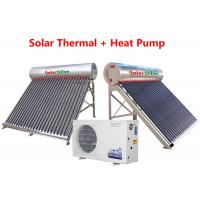 Wholesale Durable Solar Thermal Water Heater , Safety Hybrid Heat Pump Water Heater from china suppliers