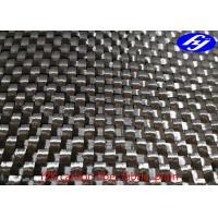 Buy cheap 280gsm 0.34mm Plain Luggage 3k Carbon Fiber Fabric product