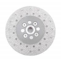 Buy cheap Double Sided Diamond Cutting Blade & Grinding Disc 5/8-11 Flange​ Diamond Grinding Wheel from wholesalers