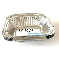 Buy cheap Manufacturer low price food waterproof food aluminium foil cake containers,Disposable to go Aluminum Foil Sealing Food C from wholesalers