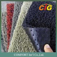 120cm width 15mm thickness PVC Floor Covering / 100% PVC carpet with nail backing Manufactures