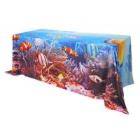 Custom Printing Trade Show Tablecloths 183 * 76 * H 74 Cm Furniture Suit Manufactures