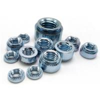 Buy cheap Zinc Plated Carbon Steel PEM Clinch Nut Self Clinching Nuts,Small Electrical Screw from wholesalers
