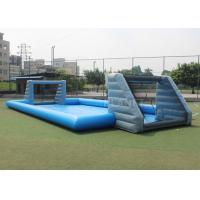 Wholesale Durable PVC Tarpaulin Inflatable Football Game Field Court Arena Pitch from china suppliers