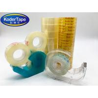 Buy cheap Low Noisy High Adhesive 50 MIC Transparent Packing Tape from wholesalers