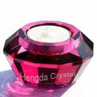 Buy cheap Crystal Candle Holder, Crystal Candleholder, Candle Holder from wholesalers
