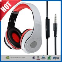 Buy cheap 3.5mm Foldable Noise Cancelling Headphone or Earphone Headset for Dj Mp3 from wholesalers