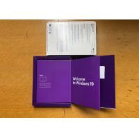 Buy cheap 100% Useful Original Windows 10 Pro Retail Box With Lifetime Warranty product