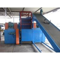 Wholesale Vertical Rubber Crusher Machine Process Tire Recycling Line Double Shaft from china suppliers