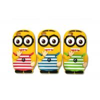 Wholesale Yellow 3D Silicon Cell Phone Protective Cases With Despicable Me Minion Design For iPhone 5C from china suppliers