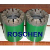 Buy cheap HTW Diamond Core Drill Bits For Soft To Hardness Rock Formation Exploration Core Drilling from wholesalers
