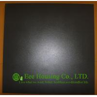 Black Color Matt surface Tiles For Indoor Floor, 600mm * 600mm Black Color Tiles For Sale Manufactures