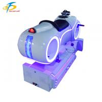 Buy cheap Cool LED Light VR Motorbike Simulator For Arcade Game Room / Star Hotels from wholesalers