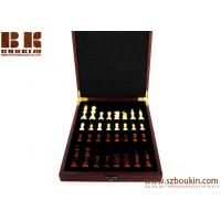 Buy cheap Birthday Gift Personalized Wood Chess Set Traveling Chess  Gift Rosewood Box from wholesalers
