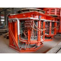 Buy cheap Tilting Melting Induction Furnace for Melting Steel Making , 1.7 ton per hour from wholesalers