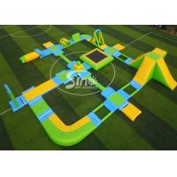 Buy cheap Custom Design Giant Floating Inflatable Aqua Amusement Park For Summer Outdoor Water Playing product