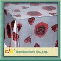 Buy cheap Wholesale Disposable PVC Table Cloths / PP Non-woven Tablecloth for Wedding / Hotel from wholesalers