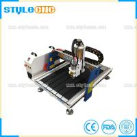 Buy cheap Ball Screw Transmission Mini 6090 cnc router 2D and 3D woodworking machine for sale from wholesalers