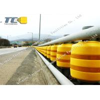 Buy cheap Anti Crash Rolling Safety Road Barrier For Highway / Roadway Star Production from wholesalers