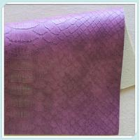 Buy cheap snake pu leather from wholesalers