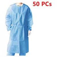 Buy cheap Breathable  Disposable Hospital Gowns Anti Static Coverall Unique One Piece Design from wholesalers