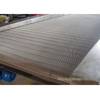 Wholesale Stainless Steel Metal Conveyor Belts Baking Oven Use Knuckled Selvedge from china suppliers