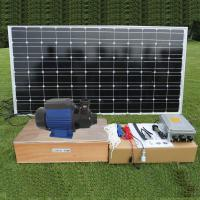 Buy cheap DC brushless Surface Solar Pond Pump , Solar Powered Water Pump For Fountain and House Use from wholesalers