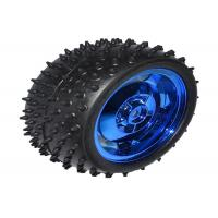 Buy cheap 4WD All - Metal Motor Smart Car Chassis High Torque 120mAh Current from wholesalers