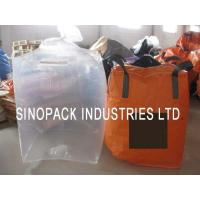 Buy cheap Large clear Form Fit PE Bulk Fibc big bag liner for carbons / fine powder from wholesalers