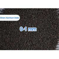 Buy cheap 1 - 3mm / 3 - 5mm Brown Aluminum Oxide For Refractories Castables Refractory Bricks from wholesalers