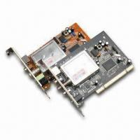 Buy cheap Analog PCI TV Tuner Card with Full Screen Display and 720 x 576 Pixels Maximum product