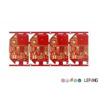 Buy cheap Double Sided Red Solder Heavy Copper PCB Red Solder Mask With OSP Surface Finish from wholesalers