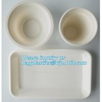 Buy cheap SUGARCANE CUP PLATE BOWL CONTAINER,PLA DISH TRAY, CULTERY, STRAW, ECO DINNERWARE BIO BAGASSE STARCH BAGPLASTICS BAGEASE from wholesalers
