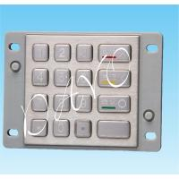 China Stainless Steel 3DES ATM Keyboard on sale
