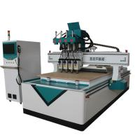 Buy cheap 3D Sculpture Automatic CNC Router Wood Carving Machine T Style Heavy Duty Frame from wholesalers