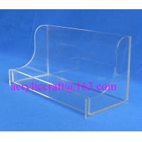 Buy cheap Hotel Supplies Acrylic Towel Holder, Plexiglass Washcloth Rack, Lucite Napkin Display from wholesalers