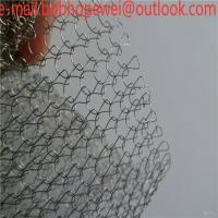 Buy cheap PTFE Plastic Air Cleaner Knitted Wire Mesh Gas Liquid Filter Oil Demister Mesh/ gas liquid filter knitted wire mesh from wholesalers