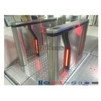 Wholesale Anti - Collision Bi - directional Drop Arm Turnstile RFID Card Single Pole Turnstile from china suppliers