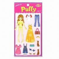 Buy cheap Puffy Stickers, Ideal for 4yrs Old and Up product