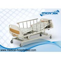 Buy cheap Anti-Rust Intensive Care Beds , Semi Automatic Medical Bed With Castors from wholesalers