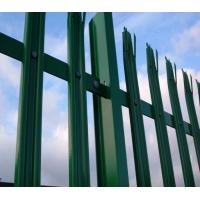 Quality Powder Coated Metal Palisade Fencing , Decorative Garden Fence Steel Panel Roll for sale