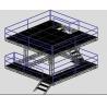 Speaker Professional Aluminium Stage Truss / Portable Stage Platforms Manufactures
