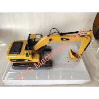 Buy cheap Diecast Excavator Parts Model Metal Scale Black & Yellow Model Excavator 1/50 Made from wholesalers